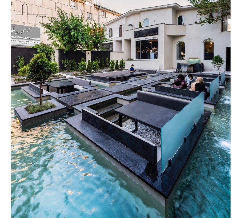 رسپینا، لوکسترین کافه رستوران شهر و یا حتی کشور ایران